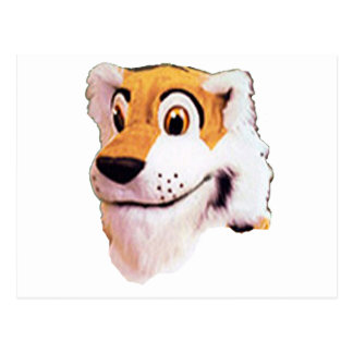 Stuffed Animal Tiger Look Postcard