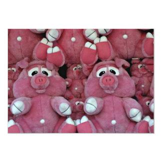 Stuffed animals at amusement park card