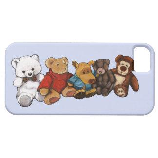 Stuffed Animals: Oil Pastel Painting: Teddy Bear iPhone SE/5/5s Case