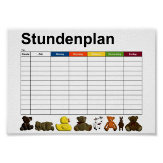 Stuffed animals / toys poster