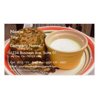 Stuffed Artichoke Business Card