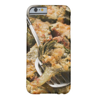 Stuffed artichokes with gratin topping barely there iPhone 6 case