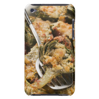 Stuffed artichokes with gratin topping barely there iPod cover