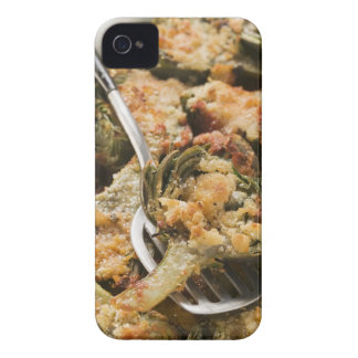 Stuffed artichokes with gratin topping iPhone 4 cover