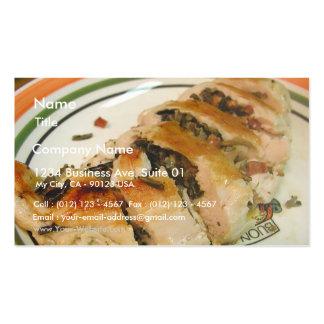 Stuffed Chicken Rice Business Card