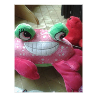 Stuffed Crab Doll Products Letterhead