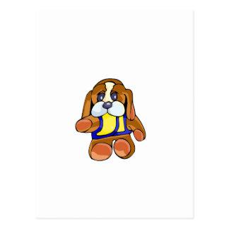 Stuffed Dog Postcard