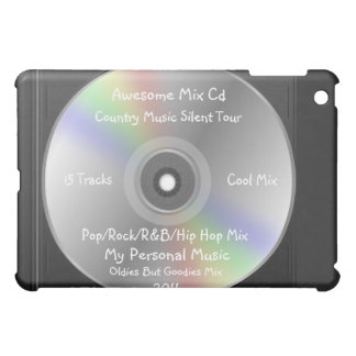 Stuffed Mix CD iPad Case