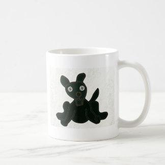 stuffed puppy coffee mug