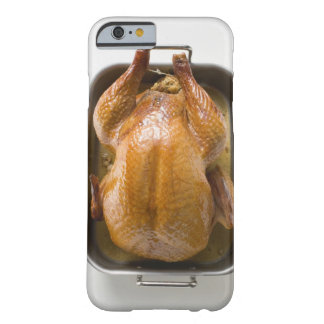 Stuffed roast turkey in roasting tray, close up barely there iPhone 6 case