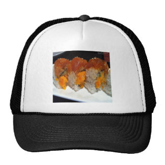 Stuffed Scallop Sushi Art On Tees Cards & Gifts Mesh Hat
