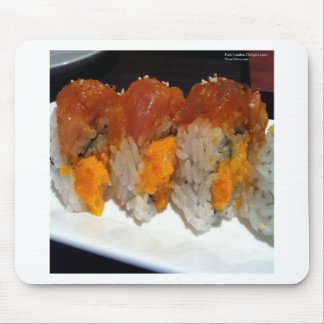 Stuffed Scallop Sushi Art On Tees Cards & Gifts Mouse Pad