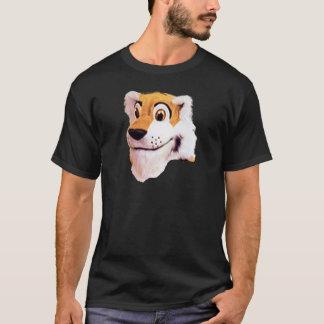 Stuffed Tiger Look T-Shirt
