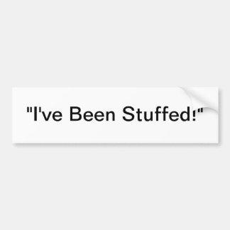 stuffer moore merchandise bumper sticker