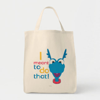 Stuffy - I Meant to do That 2 Grocery Tote Bag
