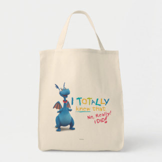 Stuffy - I Totally Knew that Grocery Tote Bag
