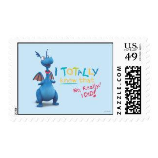 Stuffy - I Totally Knew that Postage Stamp
