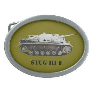 """Stug 3 F"" Belt Buckle"