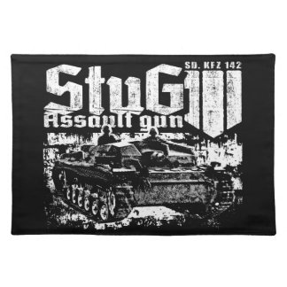 StuG III Cloth Placemat