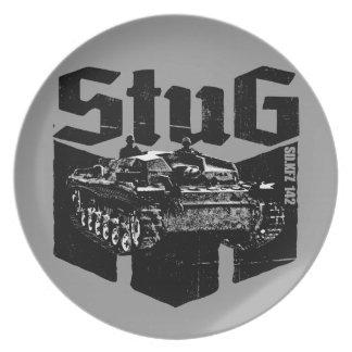 StuG III Melamine Plate