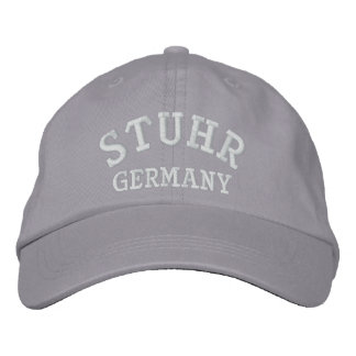 Stuhr Germany Embroidered Baseball Hat