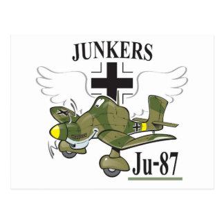 stuka ju-87 postales