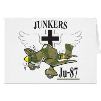 stuka ju-87 tarjeta de felicitación