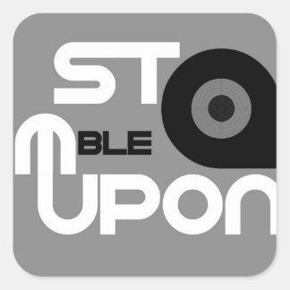 StumbleUpon Square Sticker