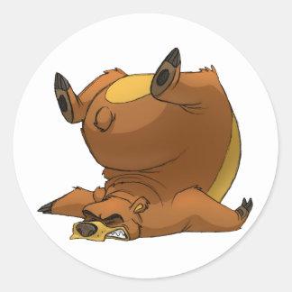Stumbling Bear Stickers