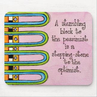 Stumbling Block Mouse Pad