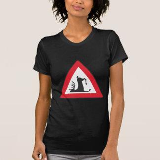 Stumbling Wildlife (Deer roadsign) Shirt