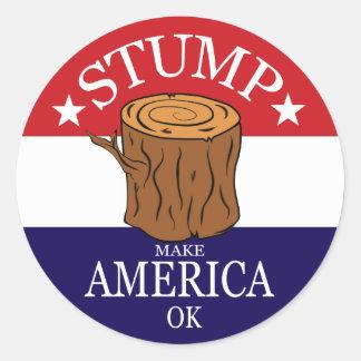 Stump Sticker