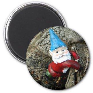 Stumped Gnome 2 Inch Round Magnet