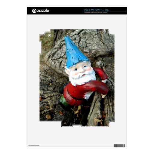 Stumped Gnome iPad 2 Decals