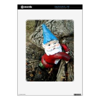 Stumped Gnome iPad Skins
