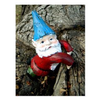 Stumped Gnome Postcard