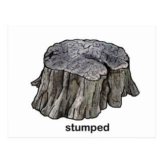 Stumped Postcards