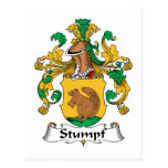 Stumpf Family Crest Post Card