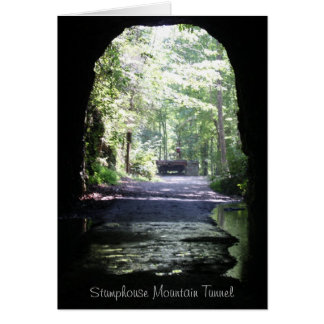 Stumphouse Mountain Tunnel Stationery Note Card