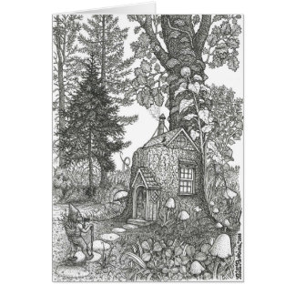 Stumptown Lodgings Greeting Card