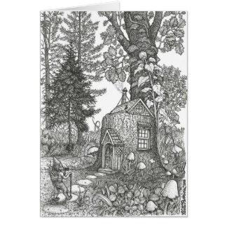 Stumptown Lodgings Greeting Card