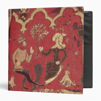 Stumpwork depicting Tristan and Isolde 3 Ring Binder