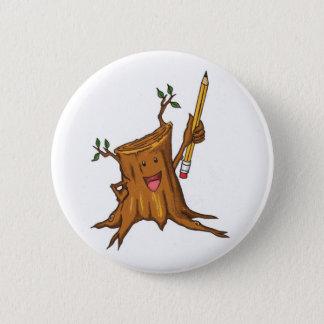 Stumpy Button (Standard) White