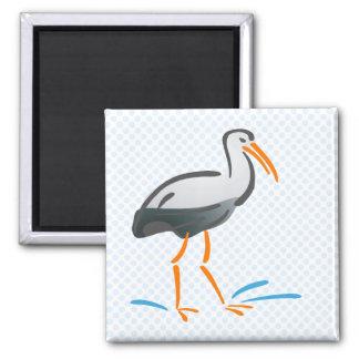 Stumpy Stork Magnet