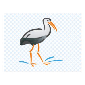 Stumpy Stork Post Cards