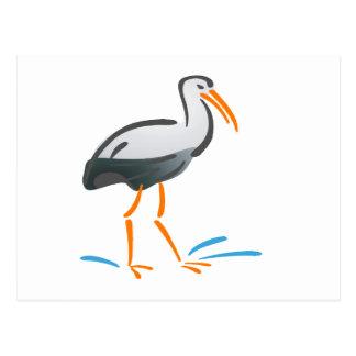Stumpy Stork Postcard