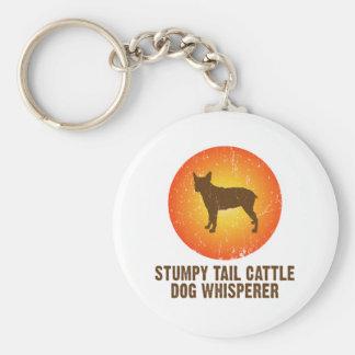 Stumpy Tail Cattle Dog Keychain