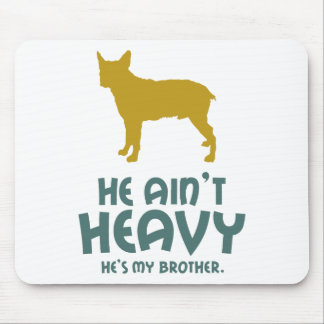 Stumpy Tail Cattle Dog Mouse Pad