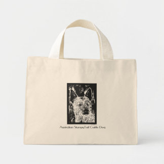 Stumpy Tail picture Mini Tote Bag