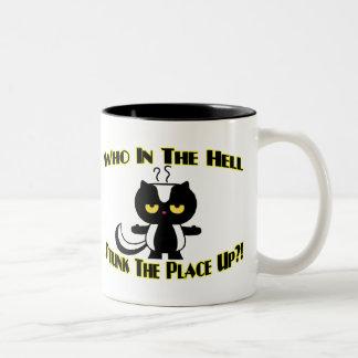 Stunk The Place Up Mugs